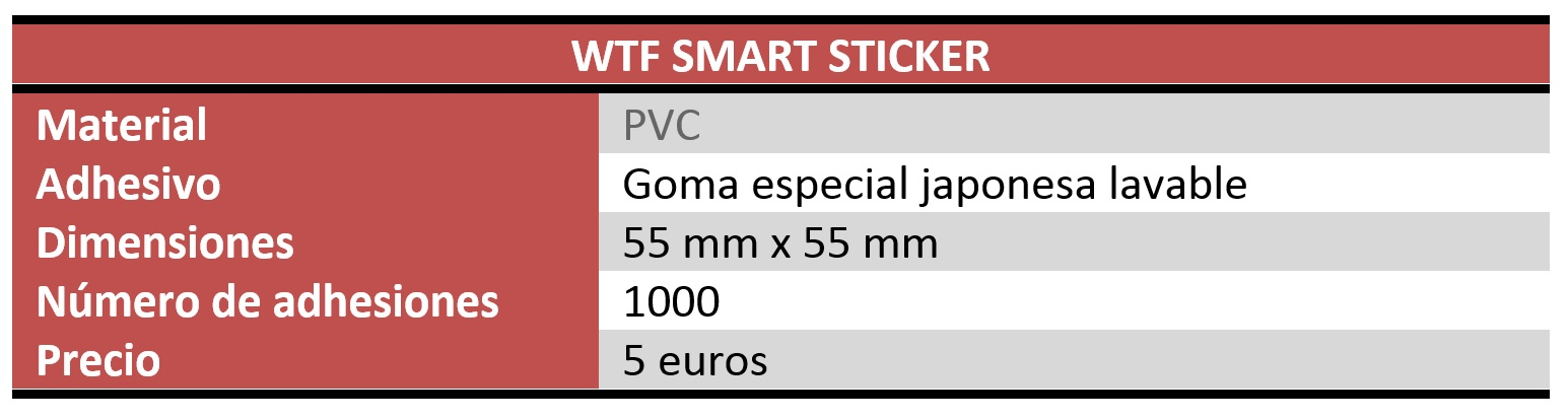 wtf smart sticker review características