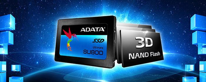 Photo of Ultimate SU800, Nuevo disco SSD NAND 3D de ADATA