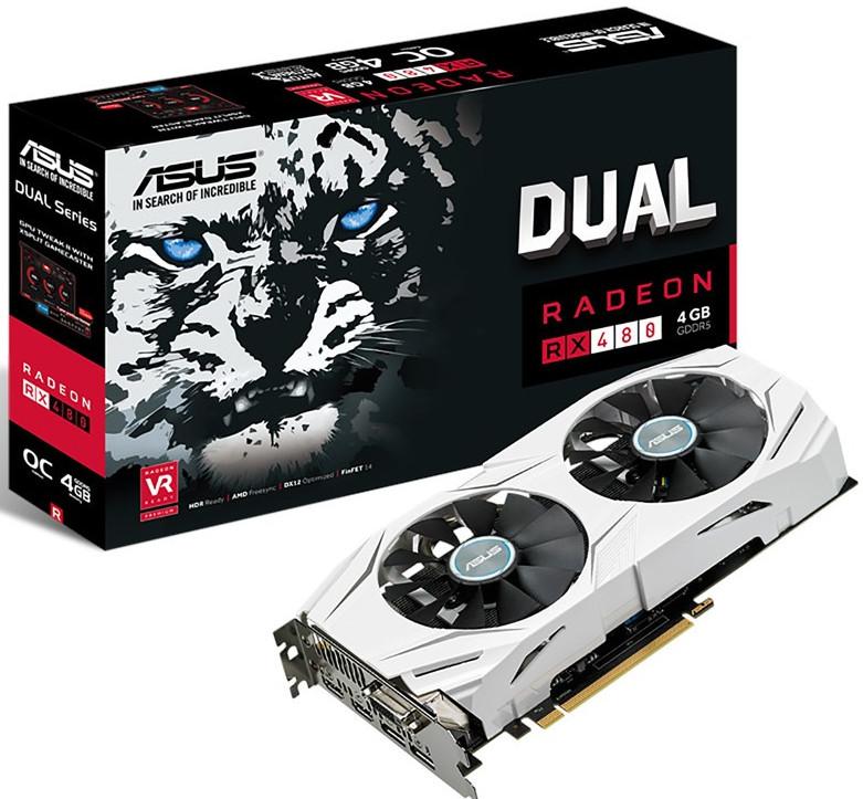 Photo of Asus Radeon RX 480 DUAL 4GB anunciada