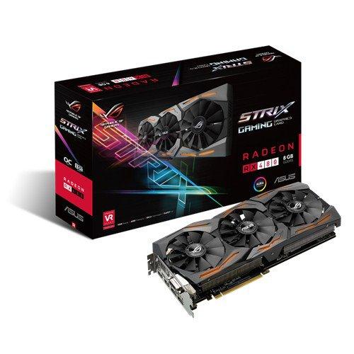 Asus Radeon RX 480 ROG Strix llega al mercado español con un precio de 335 euros