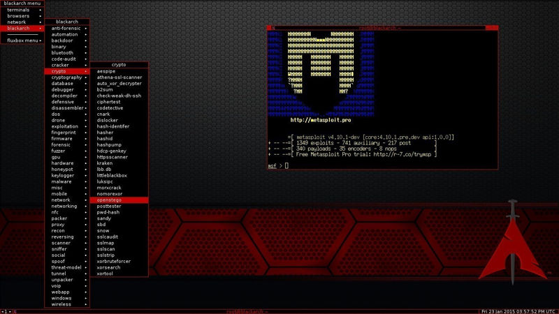 BlackArch Linux 2016.08.19 ya disponible para descargar 1
