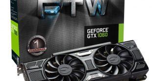 EVGA GTX 1060 3G ftw