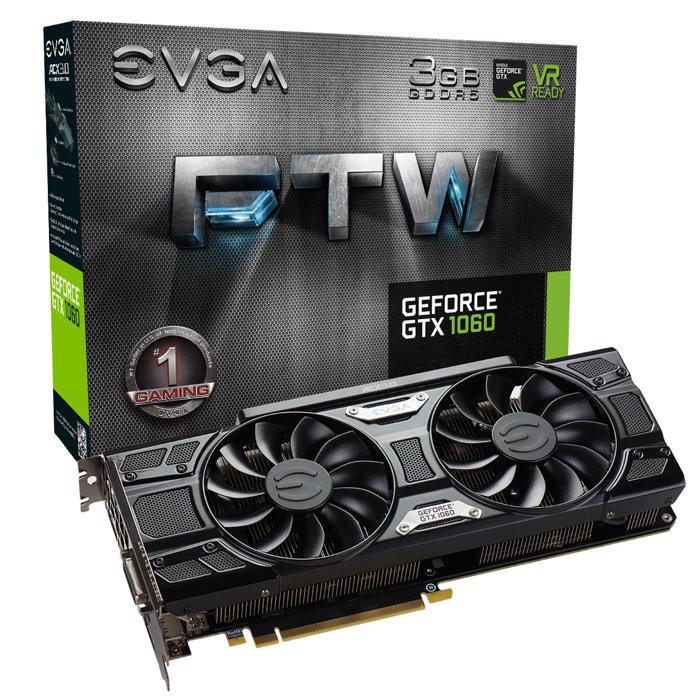 EVGA GTX 1060 3GB ftw
