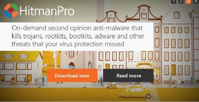 HitmanPro anti-hacking