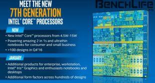 Intel Kaby Lake llega en Diciembre, primer benchmark 2