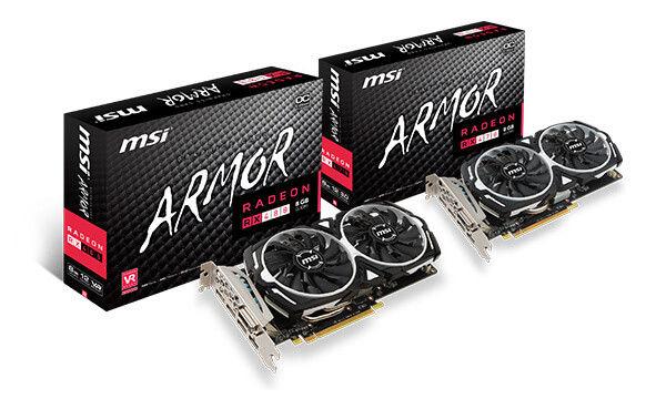 MSI Radeon RX 470 ARMOR