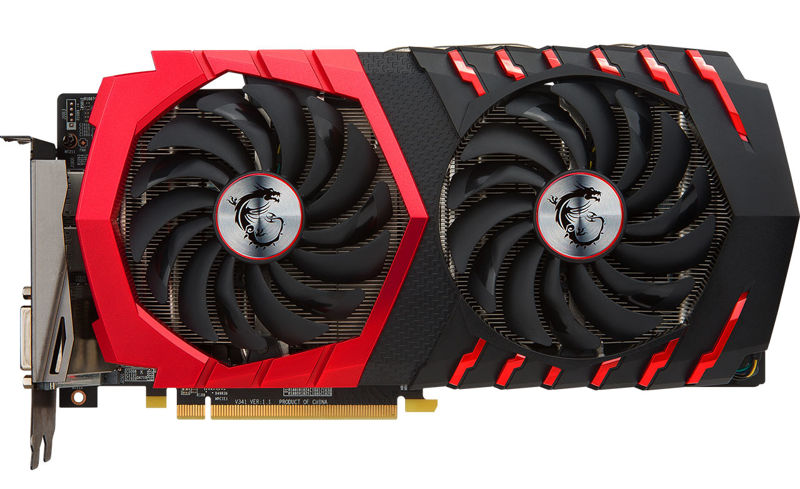 MSI Radeon RX 470 Gaming X Graphics Card