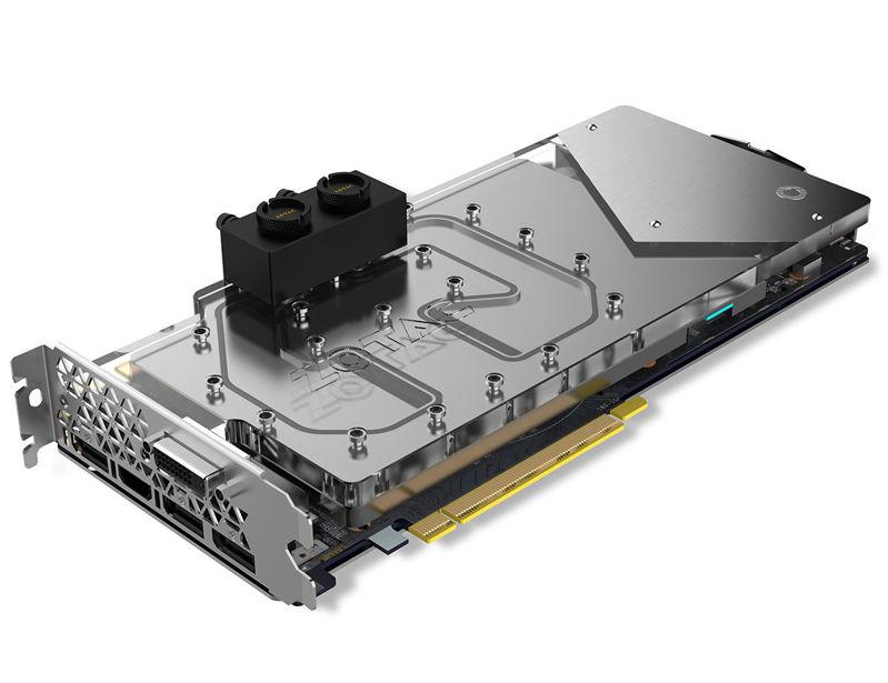 Zotac GeForce GTX 1080 Arctic Storm para tu sistema de refrigeración líquida
