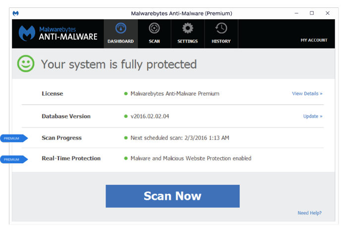 anti-malware anti-hacking