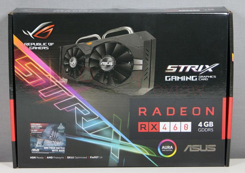 Asus RX 460 Strix Review