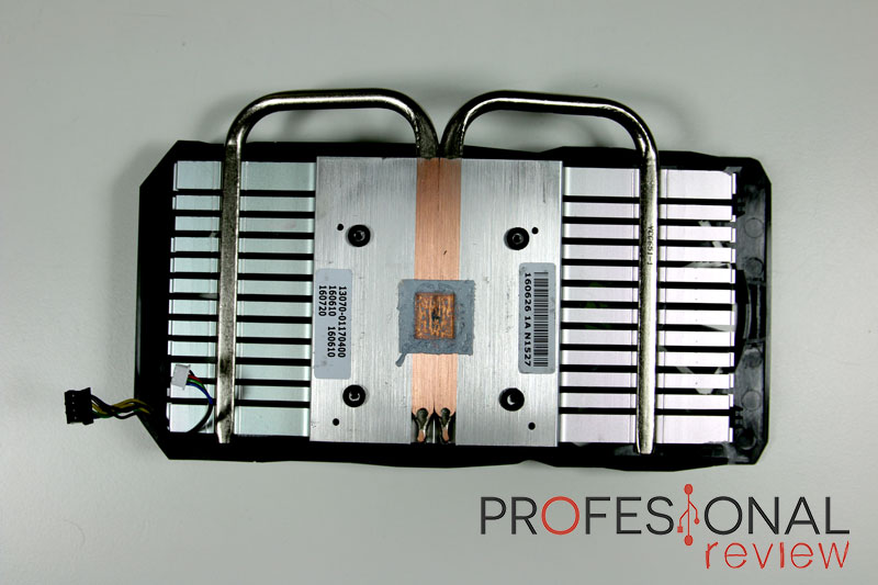 Asus RX 460 Strix disipador