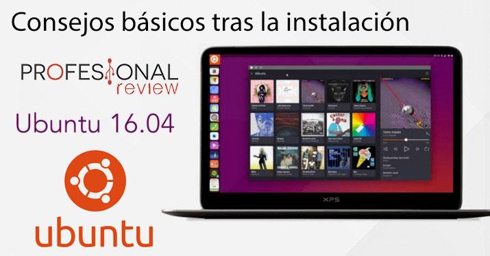 consejos Ubuntu 16.04 LTS