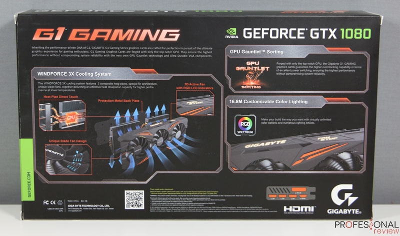 Gigabyte GTX 1080 G1 Gaming review