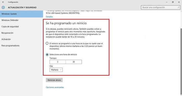 programar actualizaciones windows 10 (1)