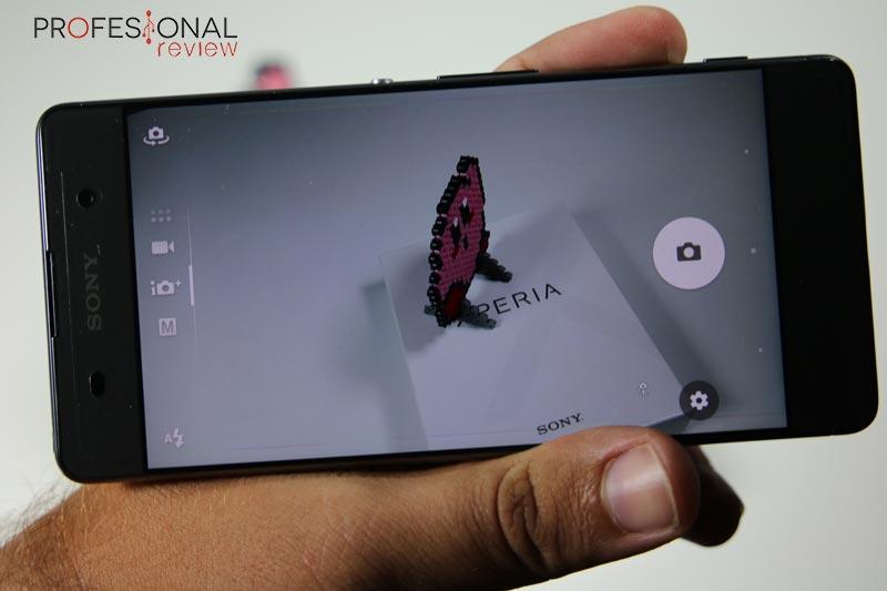 Sony Xperia XA camara