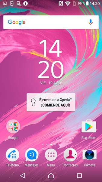 Sony Xperia XA Android 6.0