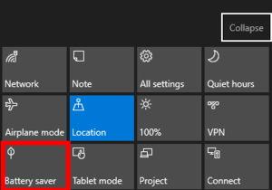 Aprende a activar el ahorro de batería en Windows 10 Anniversary Update 1
