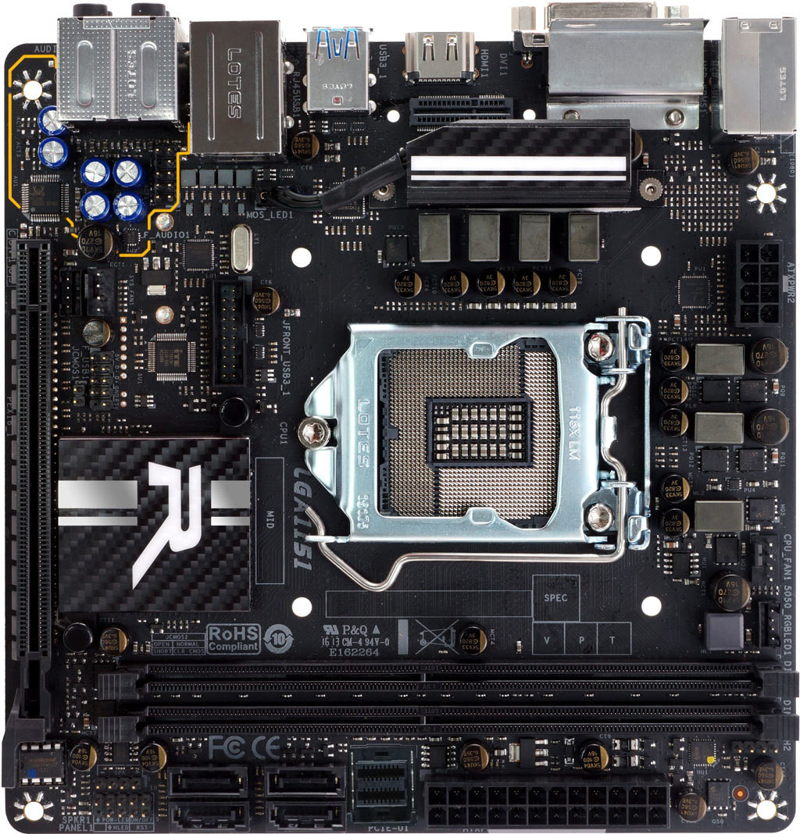 Biostar Racing Z170GTN mini-ITX 2