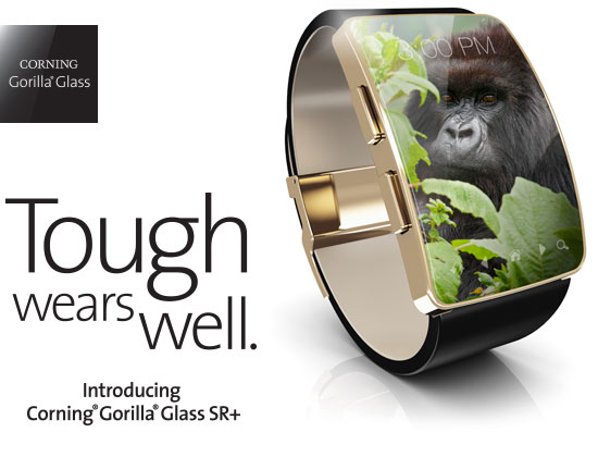 Photo of Corning Gorilla Glass SR+ hará mejores nuestros wereables