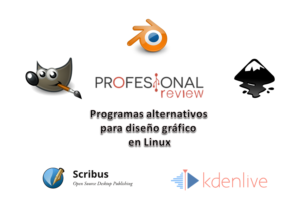 Photo of Programas alternativos para diseño gráfico en Linux