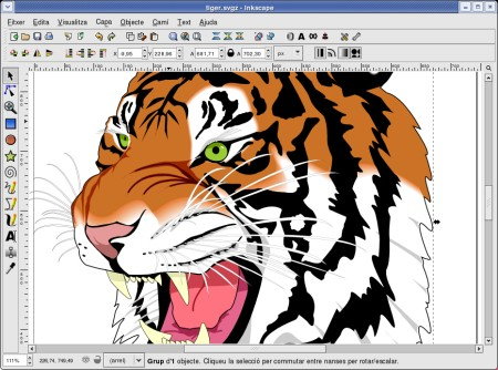 Diseño gráfico - Inkscape