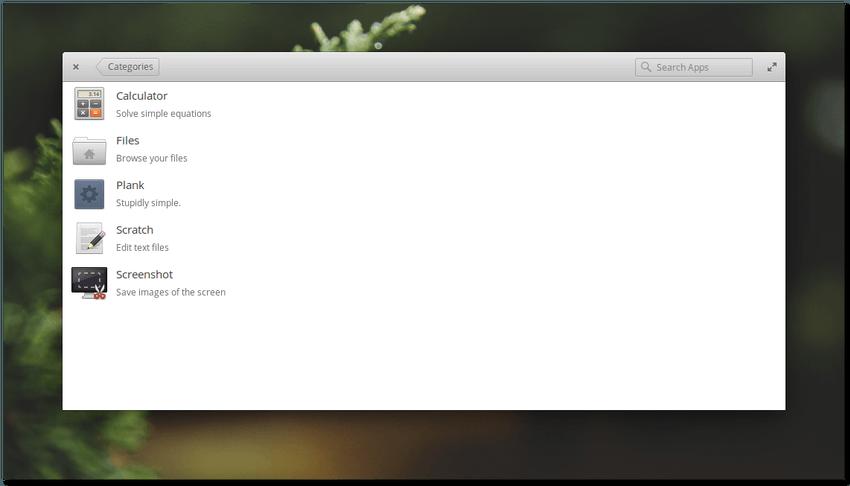 Elementary OS Loki - centro de software