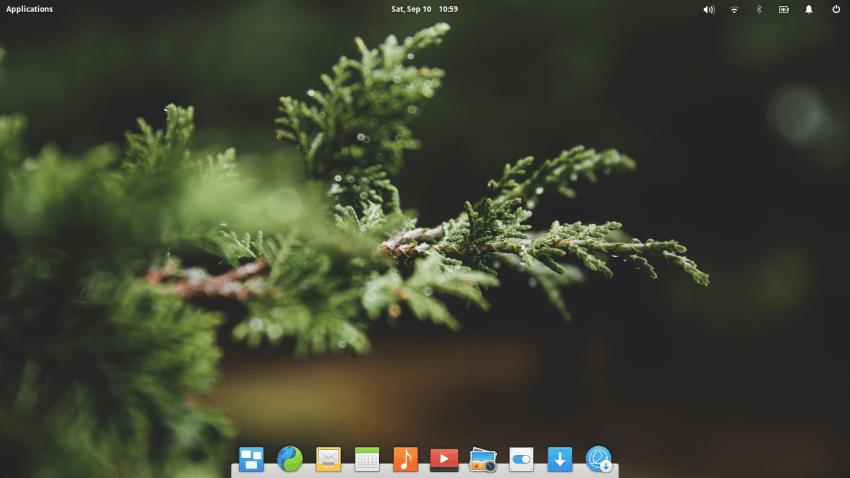 elementary OS loki - escritorio