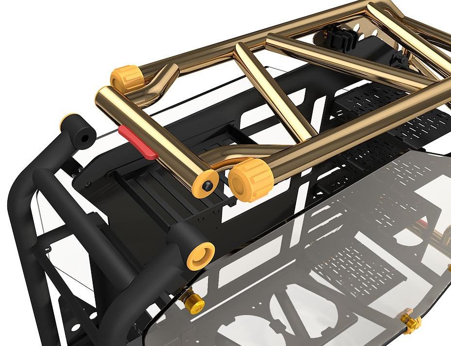 In Win D-Frame 2.0, un chasis más caro que todo tu PC 3