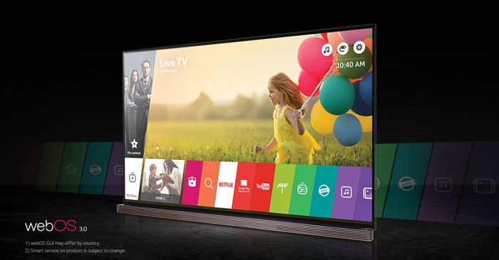 Photo of LG TV Signature, Un televisor con resolución 4K de 77 pulgadas
