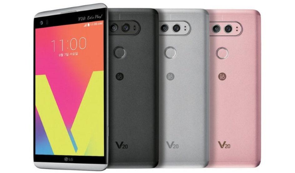 LG V20 ya es oficial con Snapdragon 820 y doble cámara