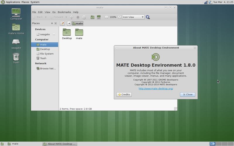 MATE - Entornos de escritorio