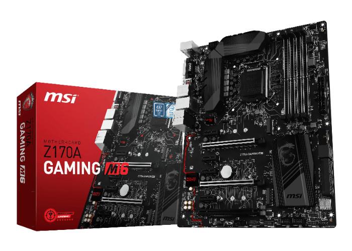 Nueva placa base MSI Z170A Gaming M6