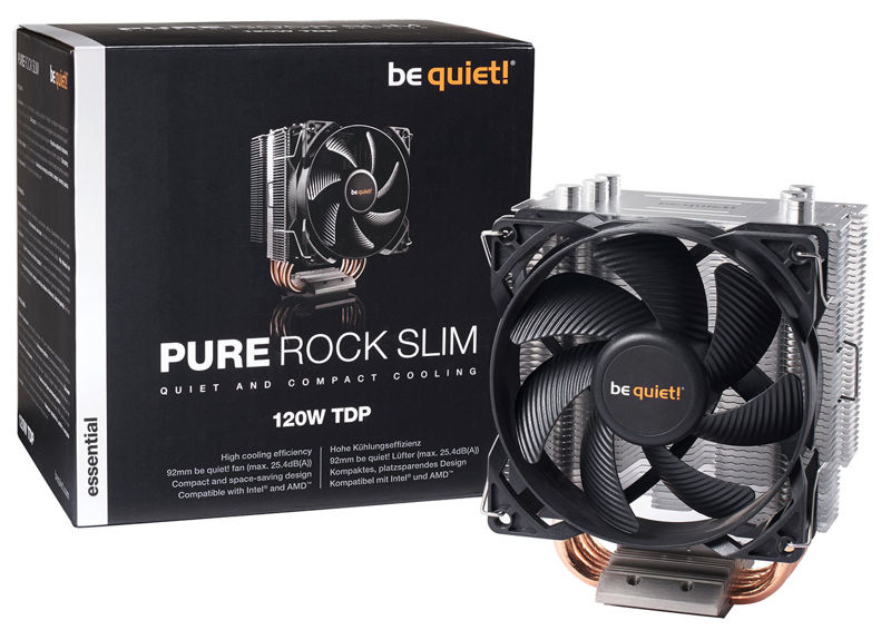 Nuevo disipador Be Quiet! Pure Rock Slim 2