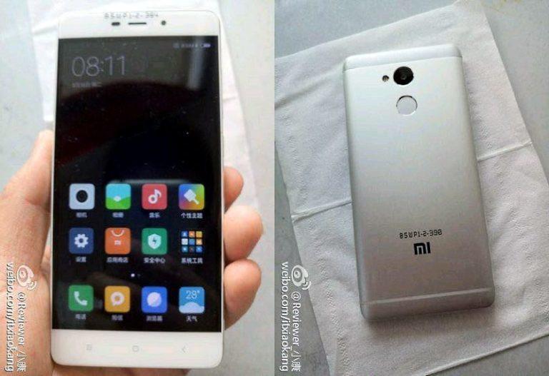 Xiaomi Redmi 4 se deja ver en imágenes