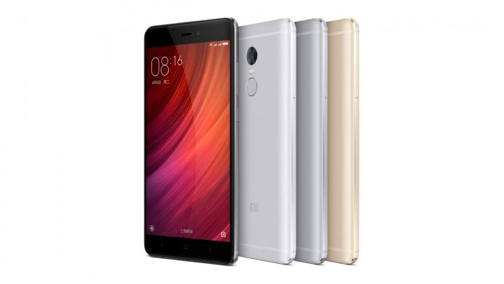 xiaomi-redmi-note4 smartphone chinos