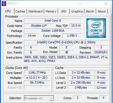 i5-6200u