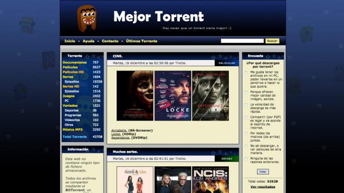 mejortorrent torrents en español