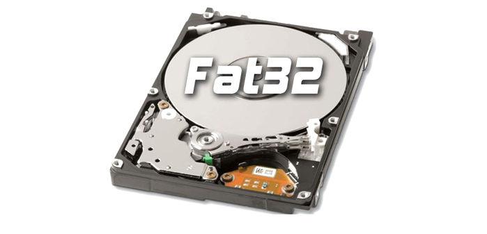 usb formato fat32