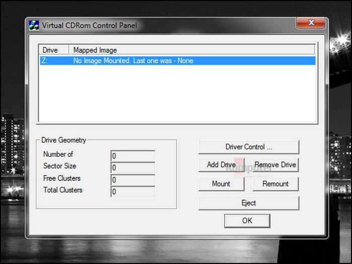 virtual-cd-rom-control-panel imagen iso