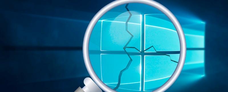 reparar instalación de Windows 10