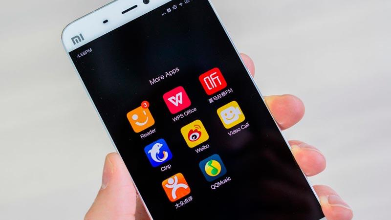 xiaomi-mi5 smartphone chinos