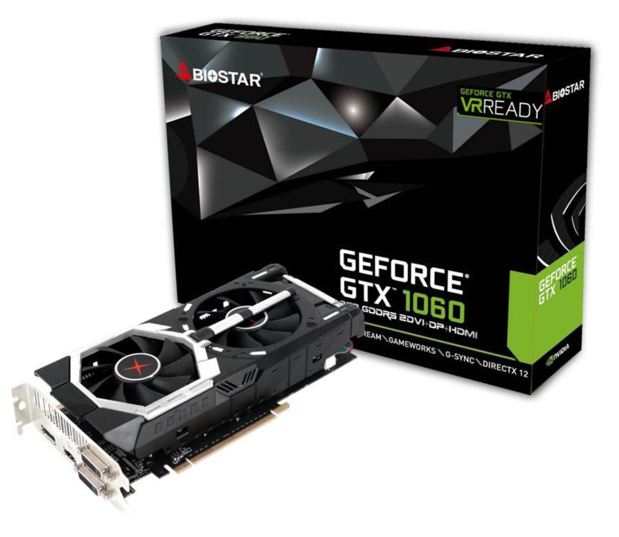 Photo of Biostar anuncia sus GeForce GTX 1060 Dual Fan