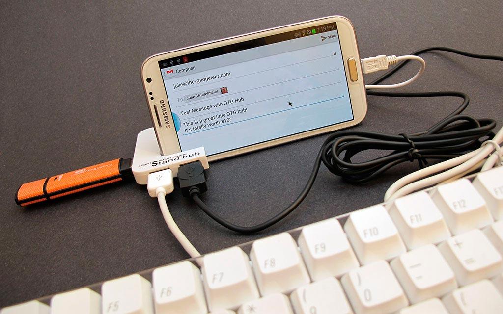 conectar pendrive USB a tu smartphone