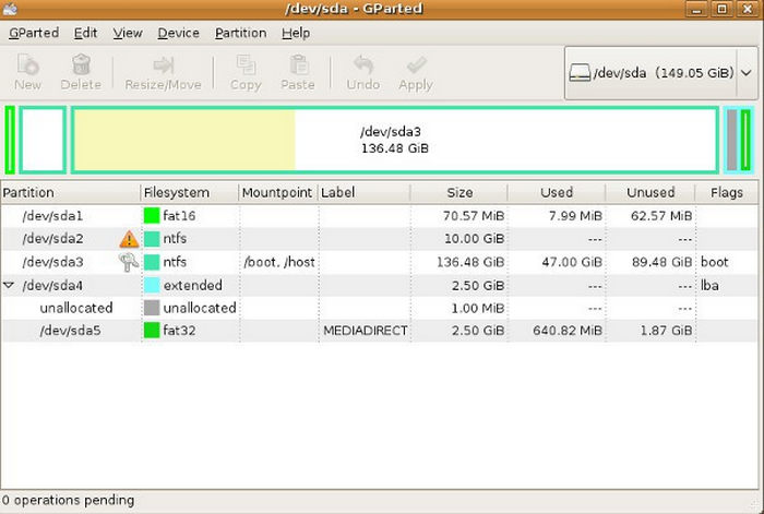 gparted-disk-partition-particionar