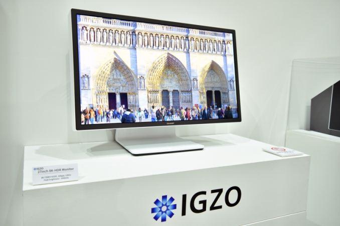 Photo of Sharp muestra también un monitor IGZO HDR de 27 pulgadas y 8K