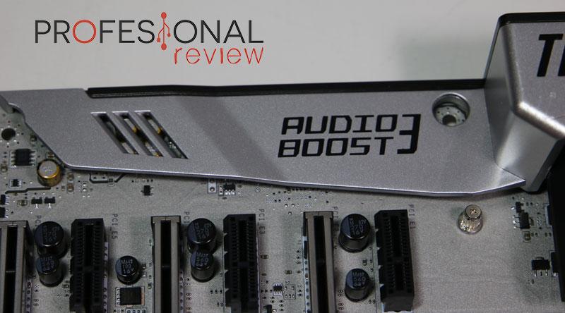 MSI Z170A MPOWER Gaming Titanium audio