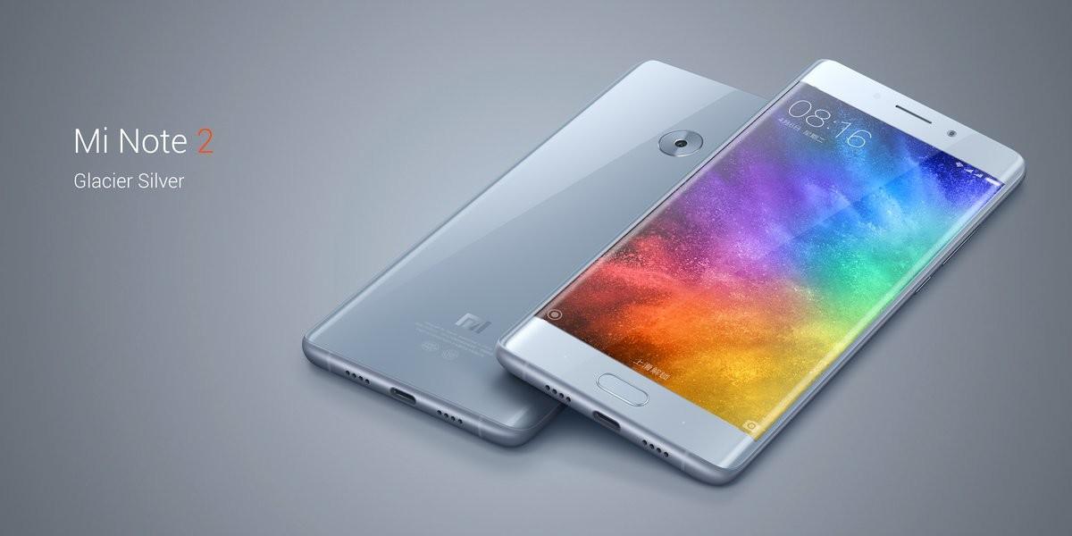 a47a5e8bfe140 El nuevo Xiaomi Mi Note 2 es un nuevo smartphone con una pantalla con una  diagonal de 5.7 pulgadas que se basa en tecnología OLED y da el salto a una  gran ...