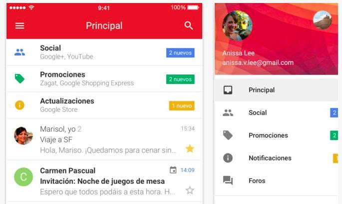descargar Gmail 5.0.3 para iOS