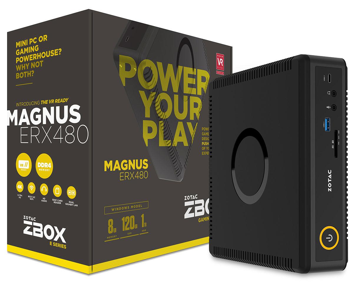 Photo of ZOTAC ZBOX Magnus ERX480 con todo el poder de AMD Polaris