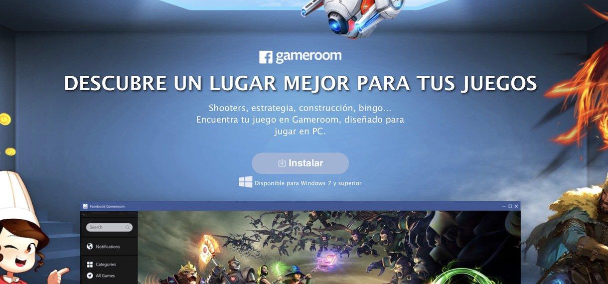 Photo of Llega Gameroom, la nueva plataforma de juegos de Facebook